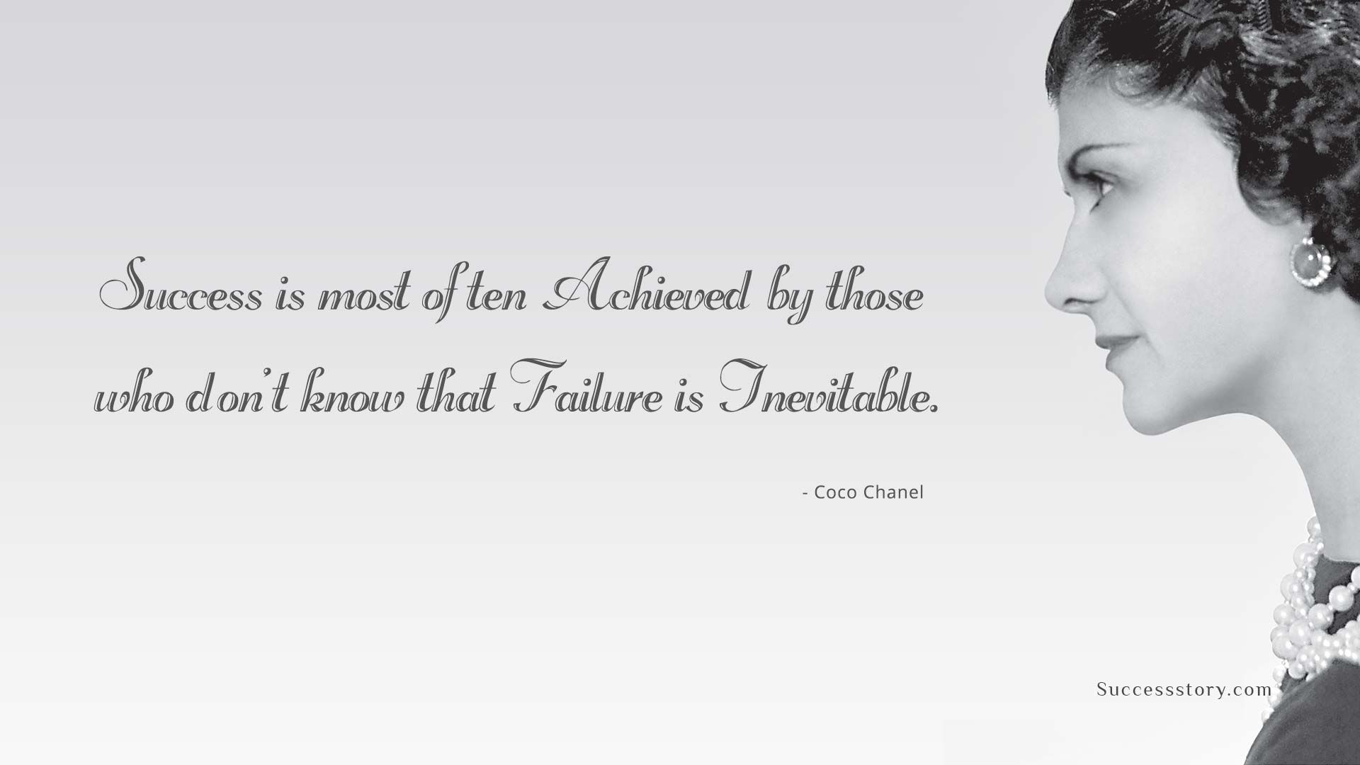Failure is Inevitable | Famous quotes about success ...