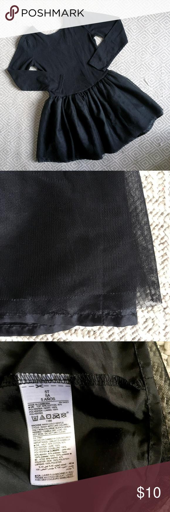 Old Navy Black Tutu Dress 5t Black Tutu Clothes Design Tutu Dress [ 1740 x 580 Pixel ]
