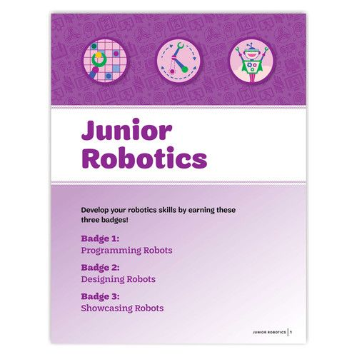 This 24 Page Pamphlet Provides The Steps Needed For The Junior Age