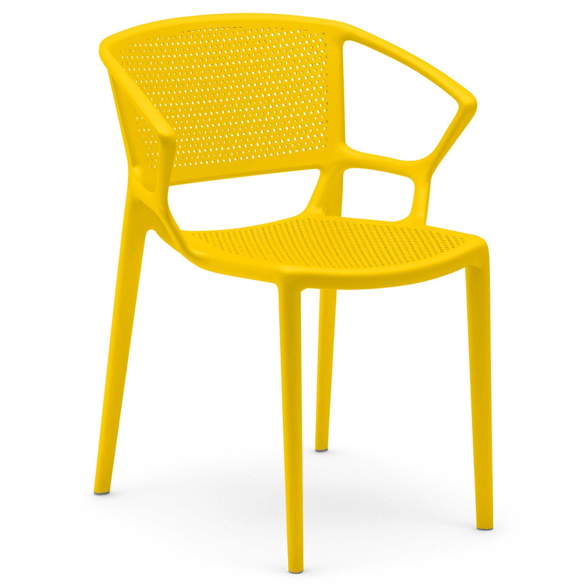 Infiniti Stuhl Fiorellina 2er Set Verschiedene Farben 4 Fuss Stuhle Stuhle Freischwinger Esszimmer Mobel Esszimmer Mobel
