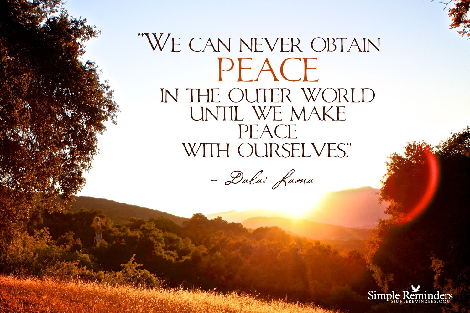Simple Reminders For Daily Inspiration World Peace Quotes Peace Quotes Harmony Quotes