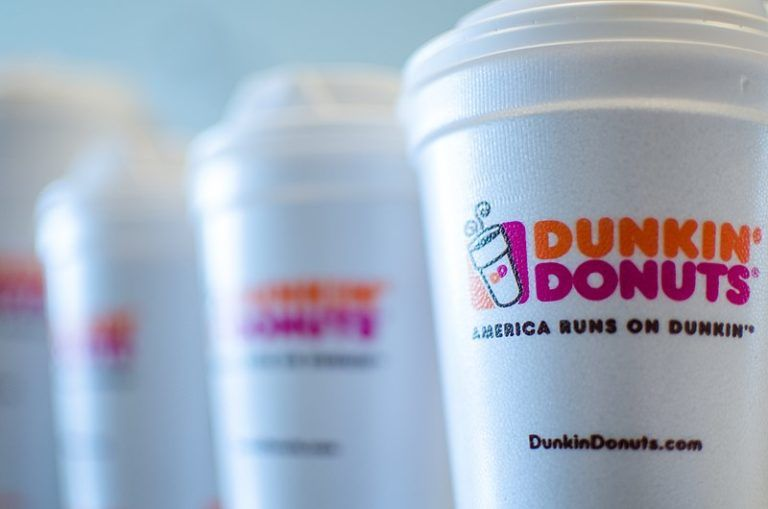 dunkin donuts coconut coffee calories