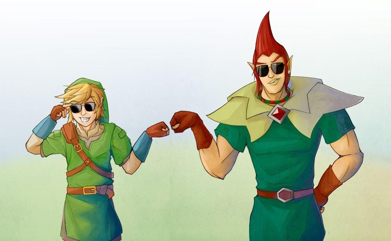 Link and Groose. *Fistpump* Ooohh yeaaa