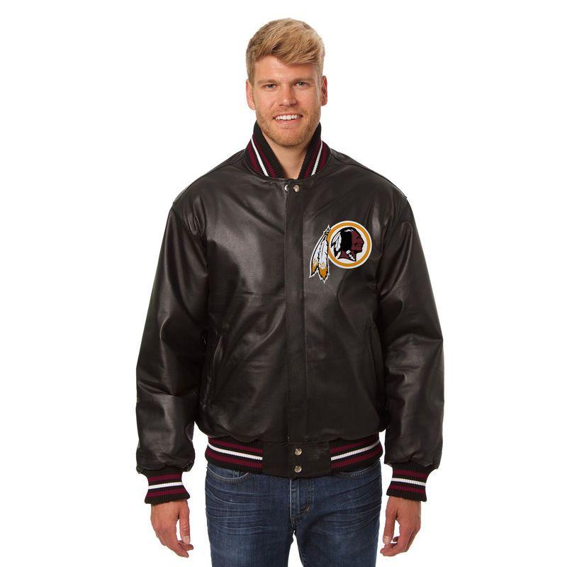 Washington Redskins Jh Design Leather Jacket Black Leather Jacket Eagles Jacket Jackets