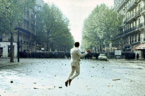 """Paris, May 1968. Photo by Georges Melet/Paris Match. """