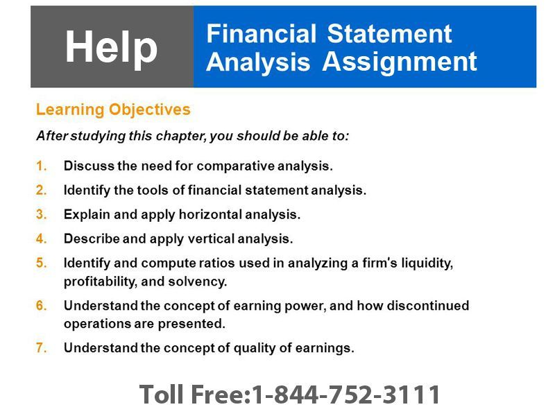Financial Statement Analysis Is Done In Most Of The ModernDay