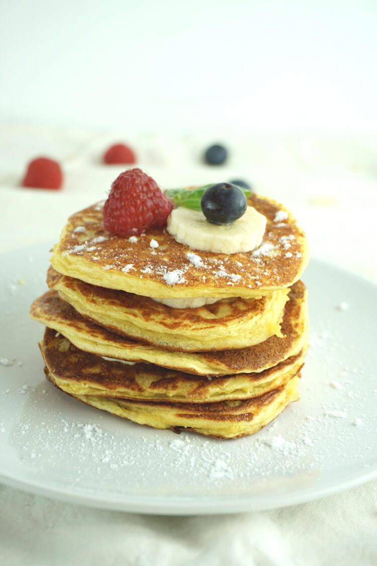 Photo of Fluffy low carb pancakes – slimming recipe