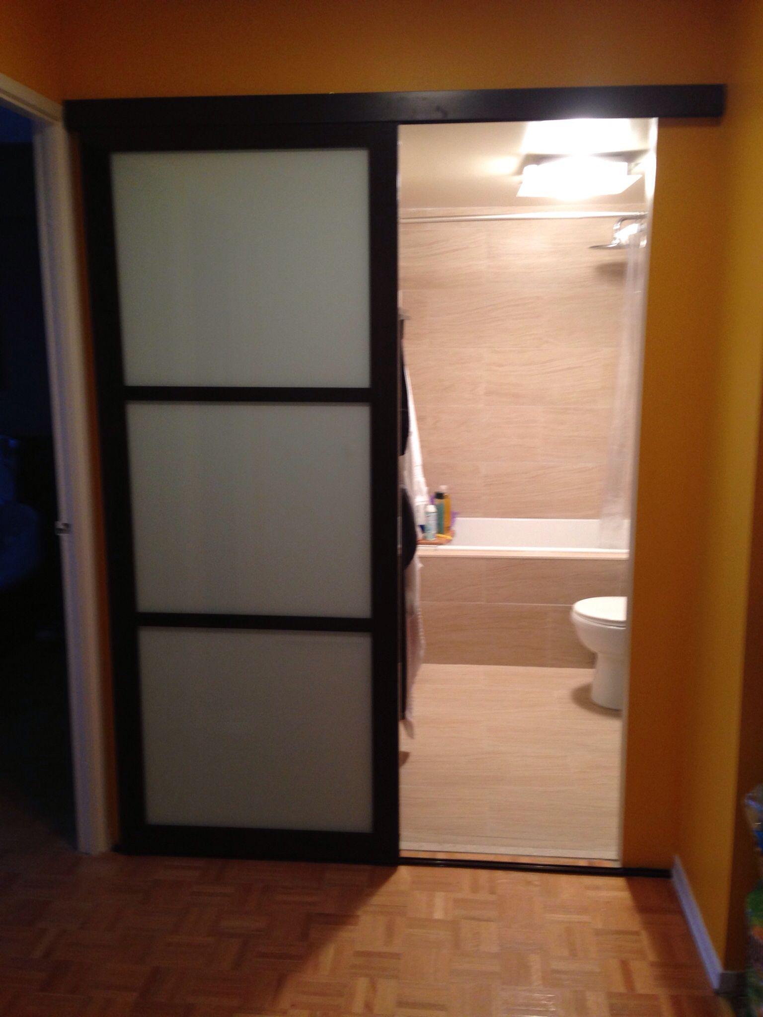 Sexy Bathroom Wall Slide Door Again Eliminating The Swing Has Now