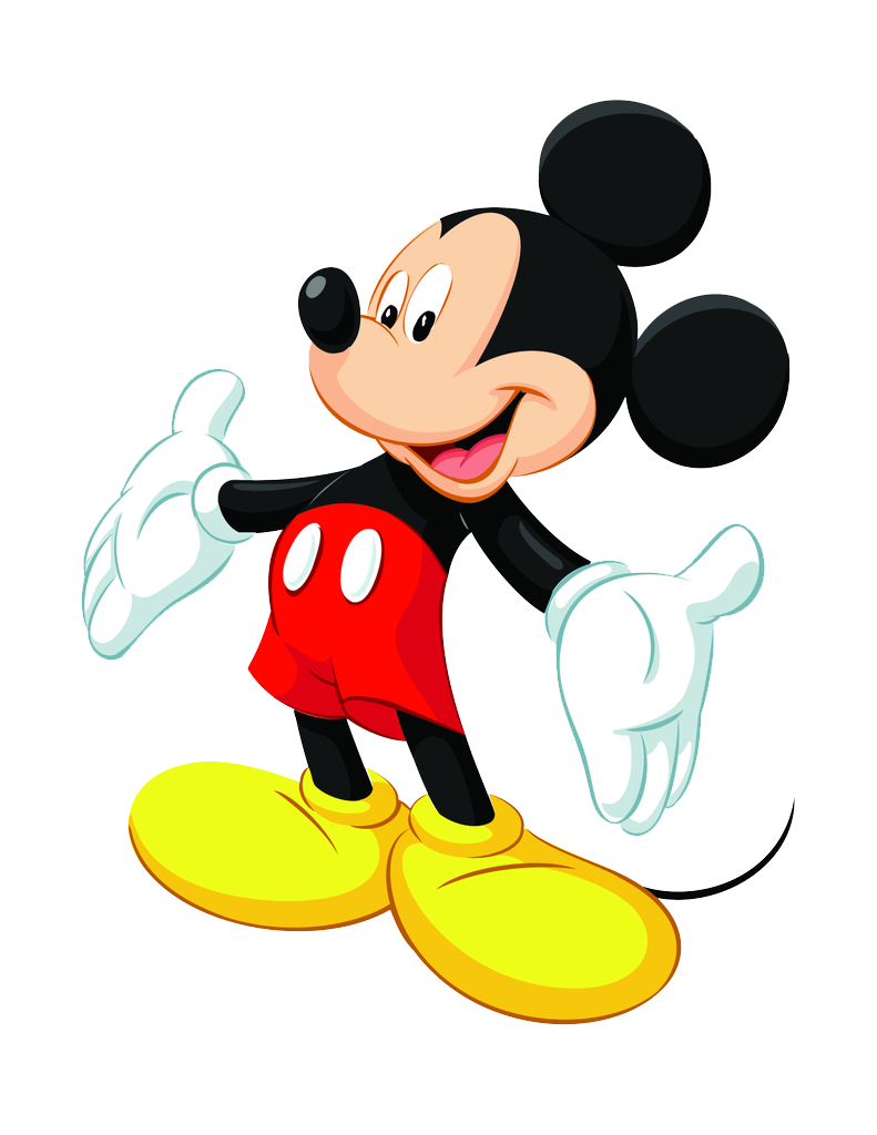 cartoon y comic en png: mickey mouse png | patrones ...