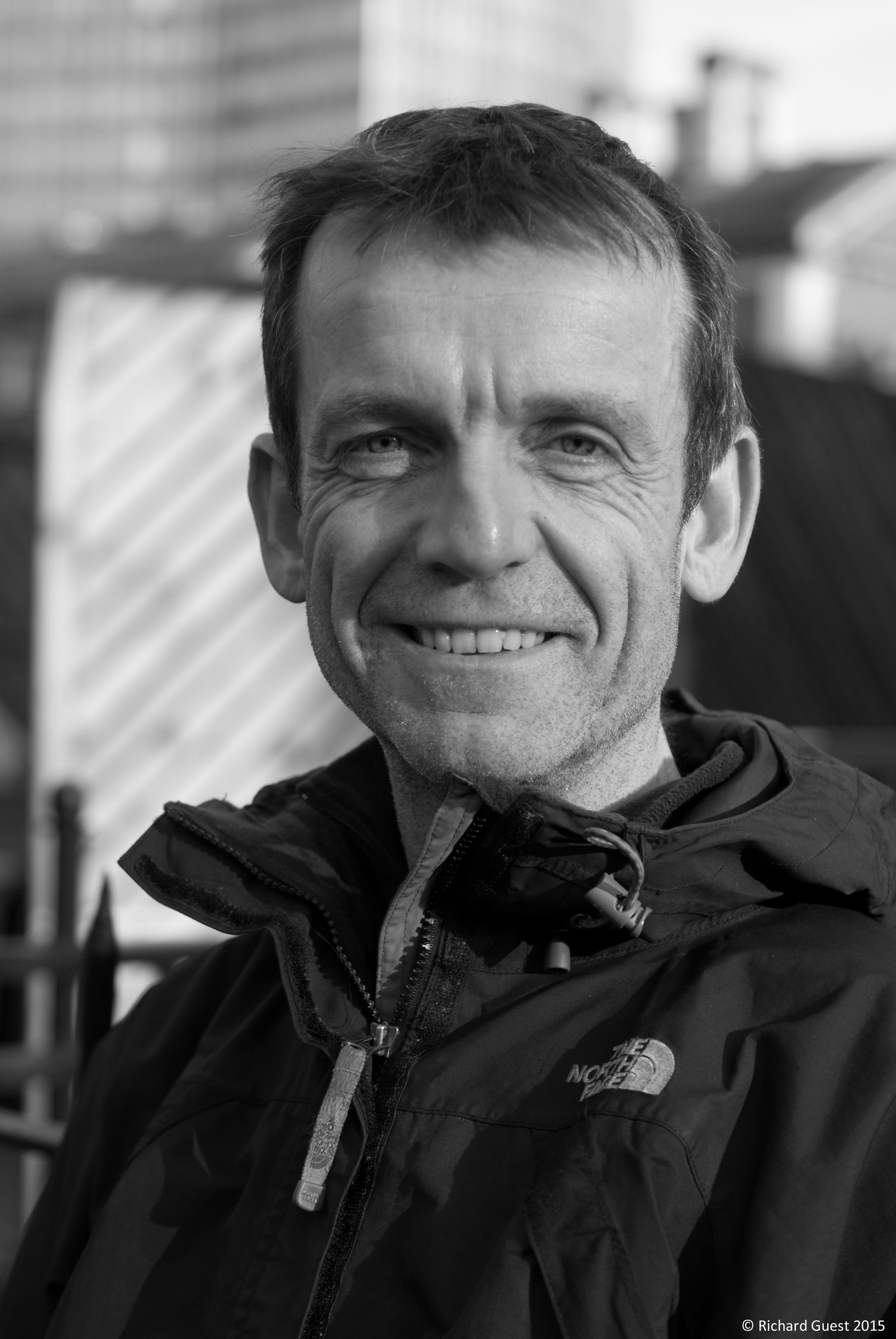 -Street Portrait (for and of Andy Shiel), 2015 - This was taken round the back of Tate Britain. I was just passing when I ran into Andy. We've known each other since 1986, when we were at art coll...