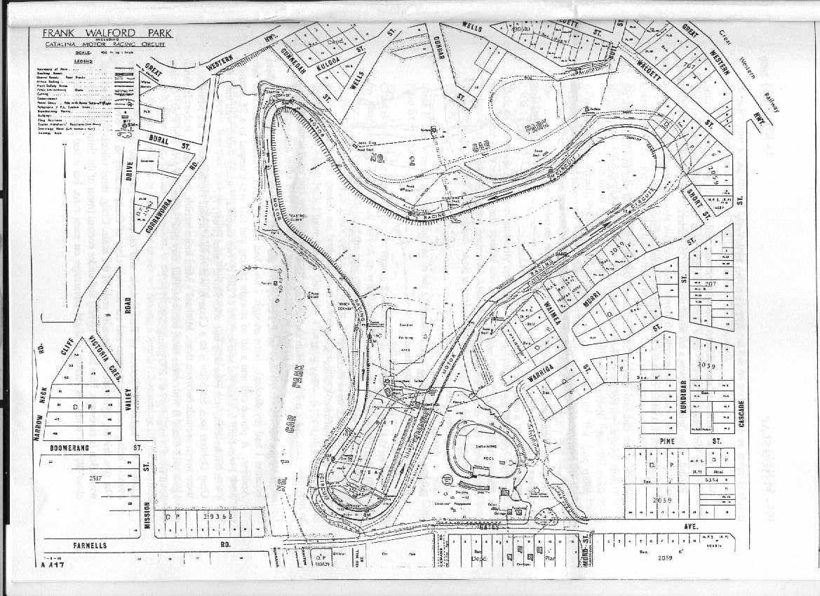 Catalina Race Track Info
