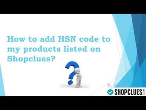 Gst Hsn Code Explained By Shopclues Com Indiacrafts Www India