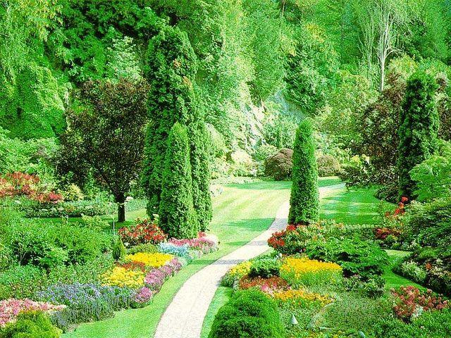 Wonderful Garden Free Hd Wallpaper Hd Wallpapers Garden Owl Dream Garden Garden Art