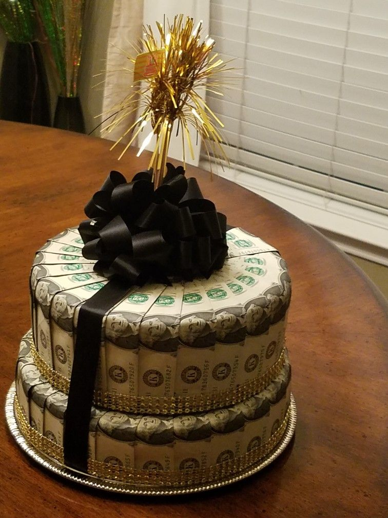 Money cake birthday ideas Pinterest Money cake Cake and Gift