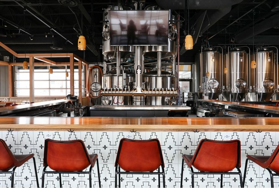 Ike Oak Brewery Opens In Woodridge Brewery Private Dining Room Garage Door Styles