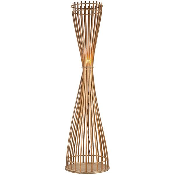 Stylish Wooden Floor Lamp In Corded Wheat Straw Shape Wooden Floor Lamps Wooden Shades Floor Lamp