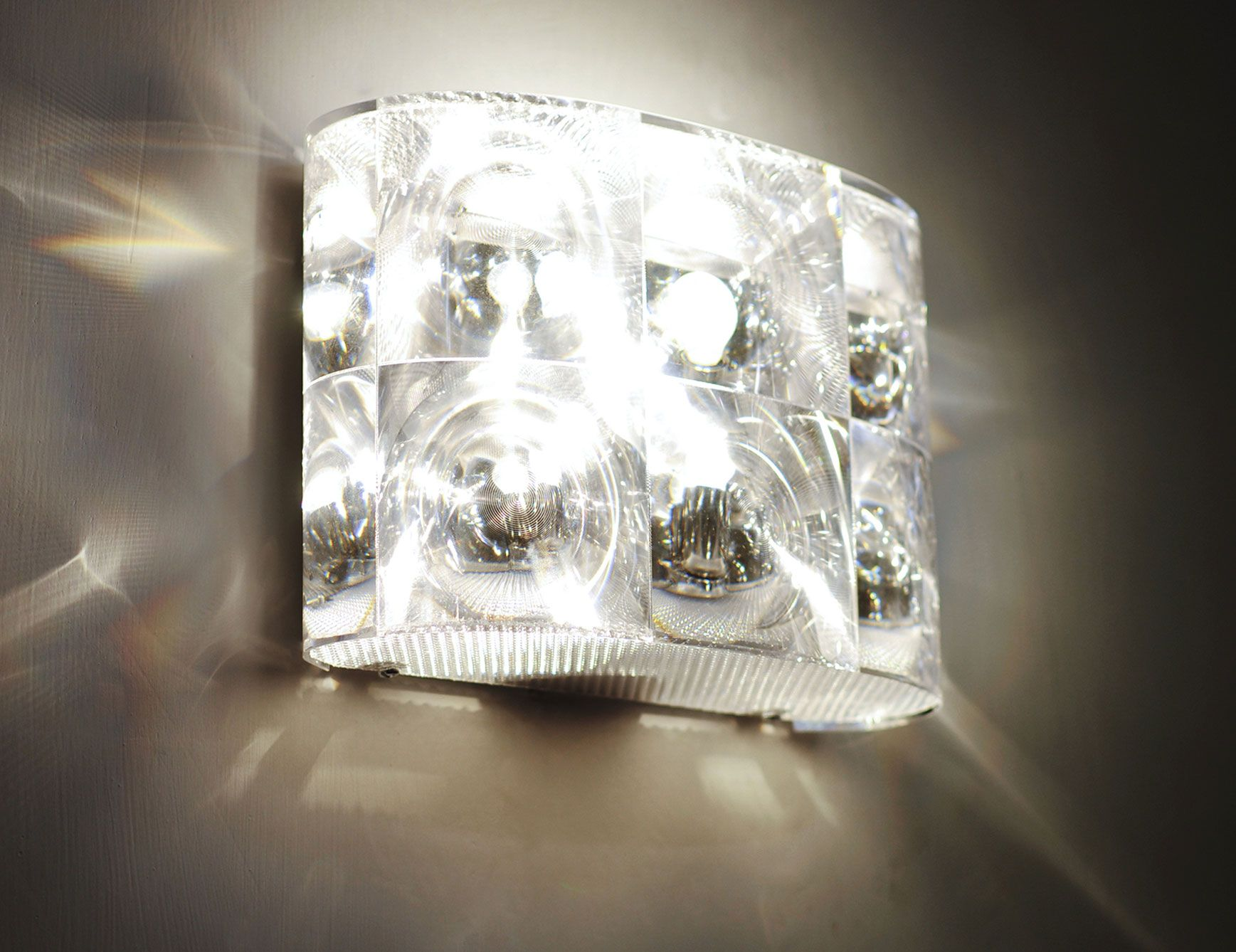 Says Available In Different Sizes Check It Out Lighthouse Italian Modern Wall Light Shown In Clear Polyca Wall Lights Sconces Wall Lighting Design
