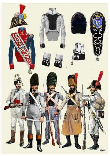 Fuciliere e granatieri del rgt. di fanteria