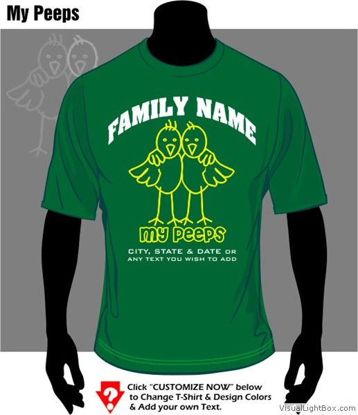 family reunion shirt my peeps