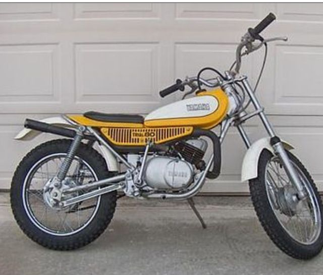 1976 yamaha ty80 trials bike i don 39 t remember why i sold for Yamaha trials bike
