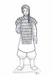 Terracota Army Drawing Yahoo Image Search Results Army Drawing