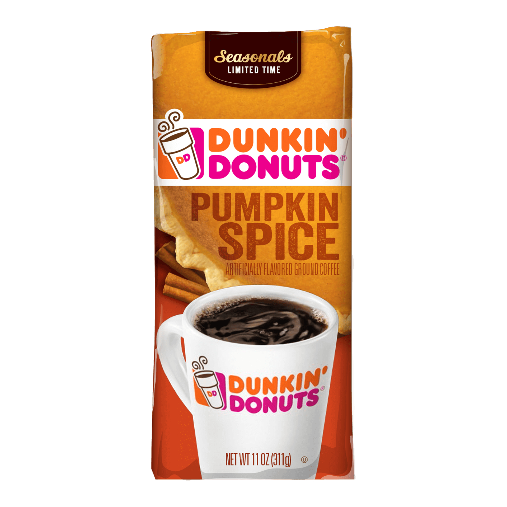 Find Dunkin Donuts pumpkin spice coffee near you. Use it