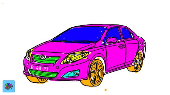 Download Gambar Mewarnai Mobil Balap Mobil Balap Pembalap Mobil