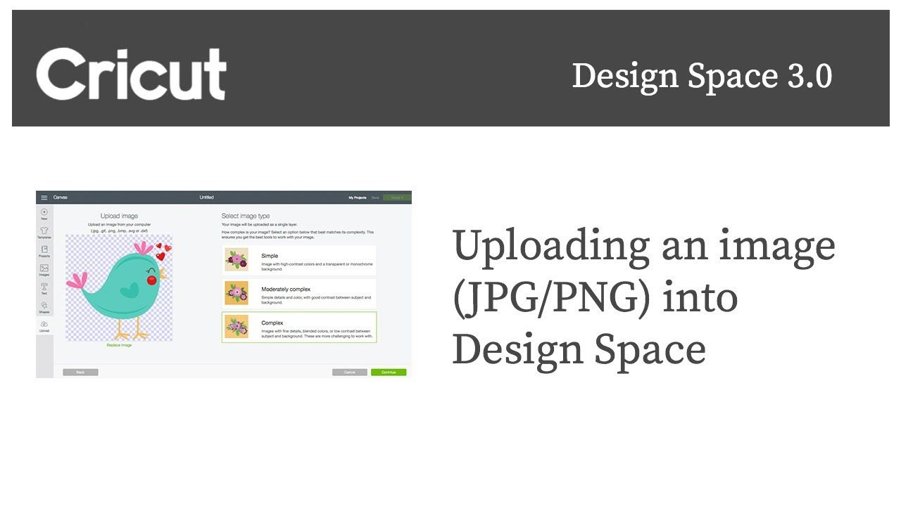 How to Upload an Image In Cricut Design Space 3.0 Cricut