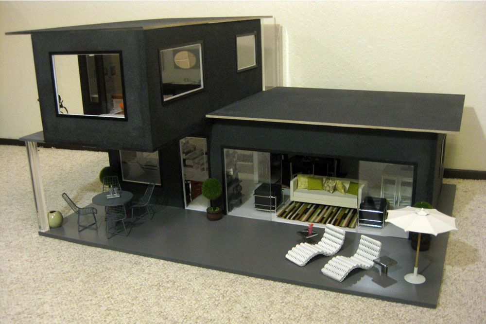 A Fashion House For The Miniature Fashionista Container House