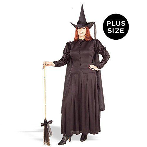 Forum Novelties Women\u0027s Plus-Size Wild N\u0027 Witchy Plus Size Classic - black skirt halloween costume ideas
