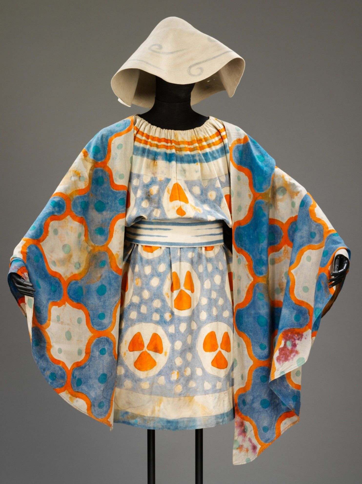 """Léon Bakst, The Ballets Russes, costume for a Beotian shepherd from the ballet """"Narcissus"""", 1911"""