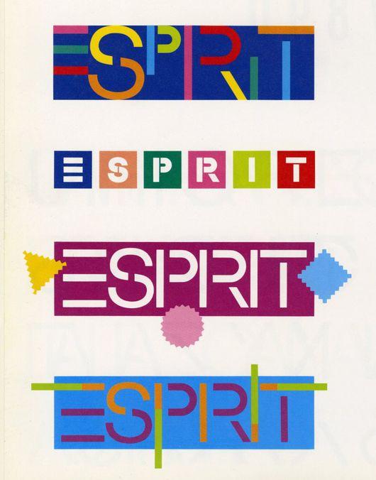 Esprit S Brand Books Brand Book 90s Graphic Design Interior