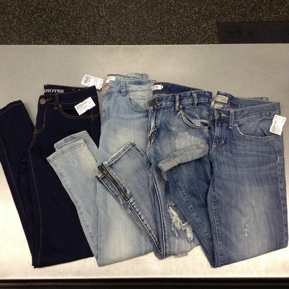 Too many pairs of jeans at home?? We can help with that. We're currently on the hunt for your #brandname #gentlyused denim. Dark and light wash skinnys, distressed and boyfriend jeans are at the top of our #mostwanted list so if you have too many why not bring them in for some #extracash | www.platosclosetkitchener.com