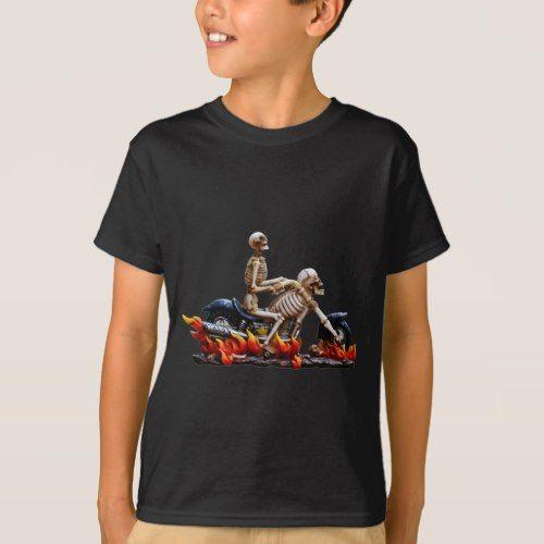 Skeleton Rider T-Shirt http://ift.tt/2xP1hiU #happyhalloween #halloween2017 #halloweenmakeup #halloweencostume