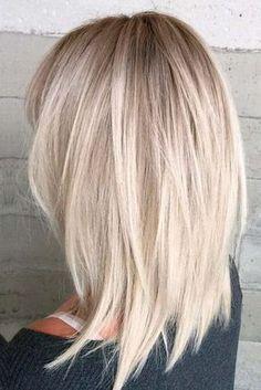 Schone Frisuren Fur Lange Blonde Haare Frisuren Frisur Dicke