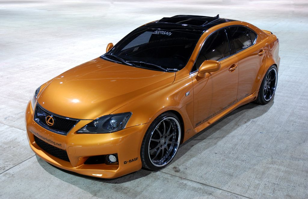 2008 Lexus ISF Custom Painted, TwinTurbo Lexus is250