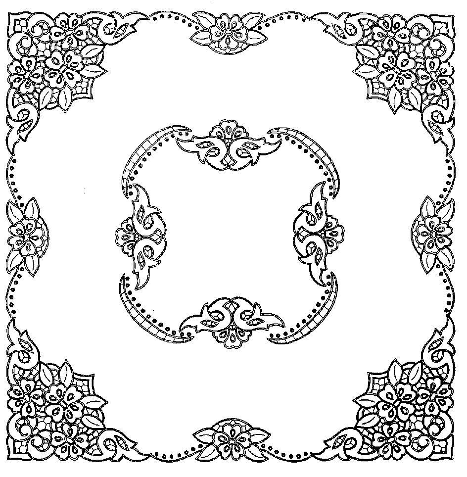 Ubrus čtverec Richelieu 90 x 90 cm | gostei | Pinterest | Bordado ...