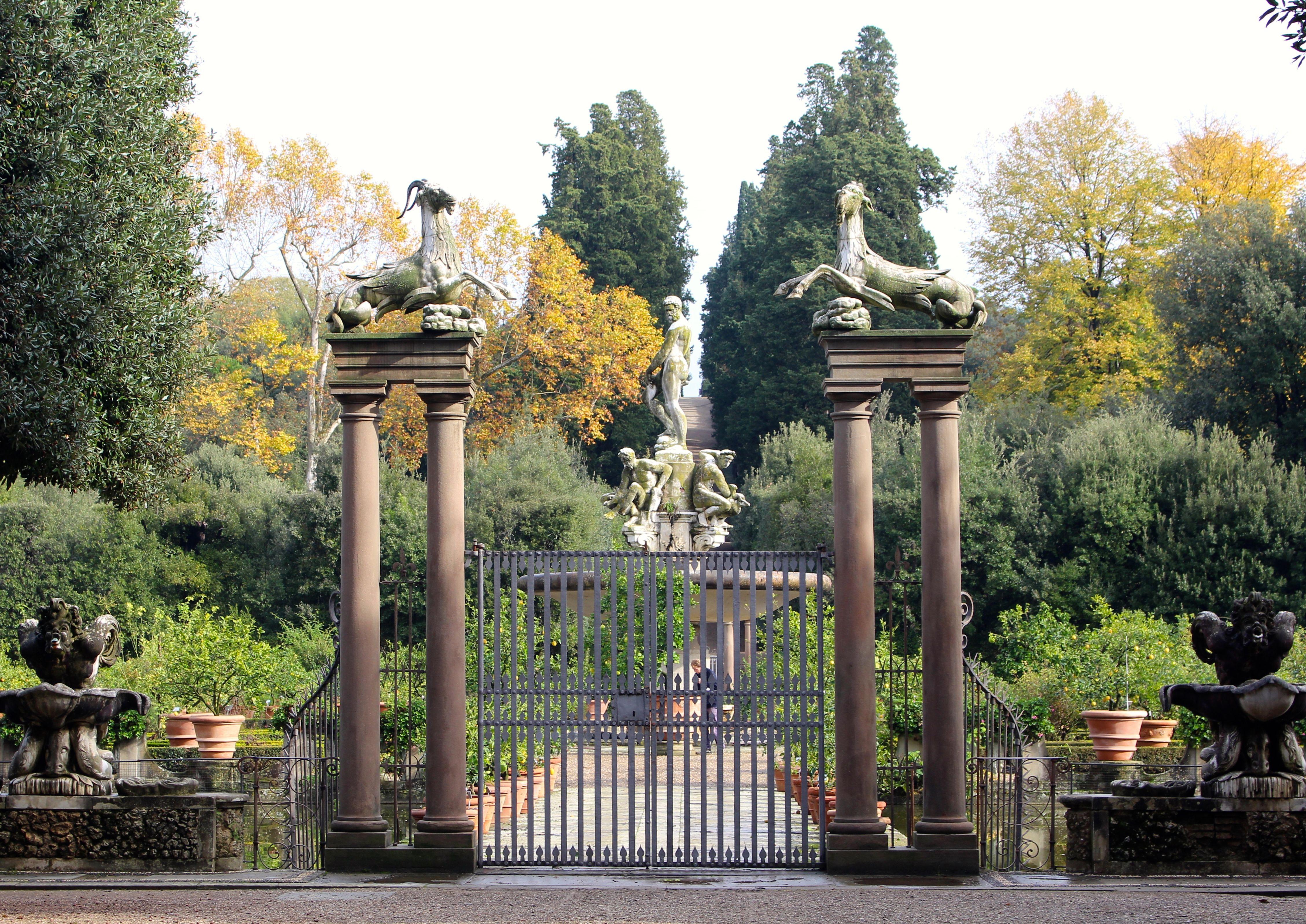 Boboli Gardens Florence Italy Island Pond Unesco World Heritage Site World Heritage Sites