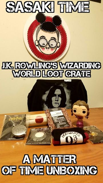 J.K. Rowling's Wizarding World Loot Crate - A Matter of Time Unboxing