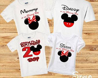 3d2a93b2e Mickey Mouse Family shirts, birthday boy Mickey mouse, birthday boy shirt,  family mickey, family shirts, birthday party, disney shirt,mickey
