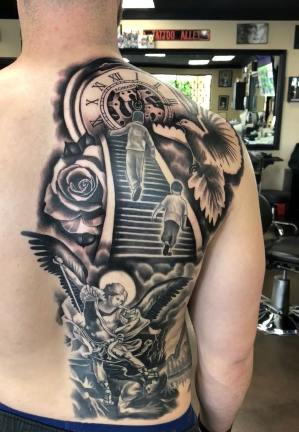 18++ Amazing Stairway to heaven tattoo lower arm ideas in 2021