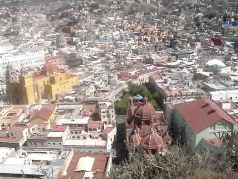 Mirador EL Pipila. Guanajuato, Mexico