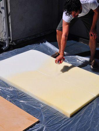 Como hacer cabeceras de cama con arpillera | Cabecera, Arpillera y Camas