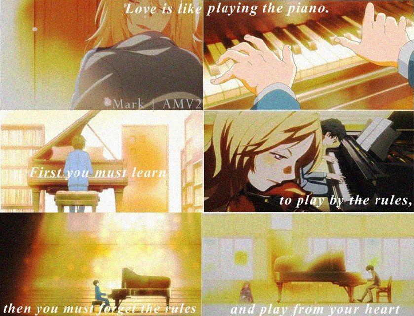 Anime : Shigatsu wa kimi no uso