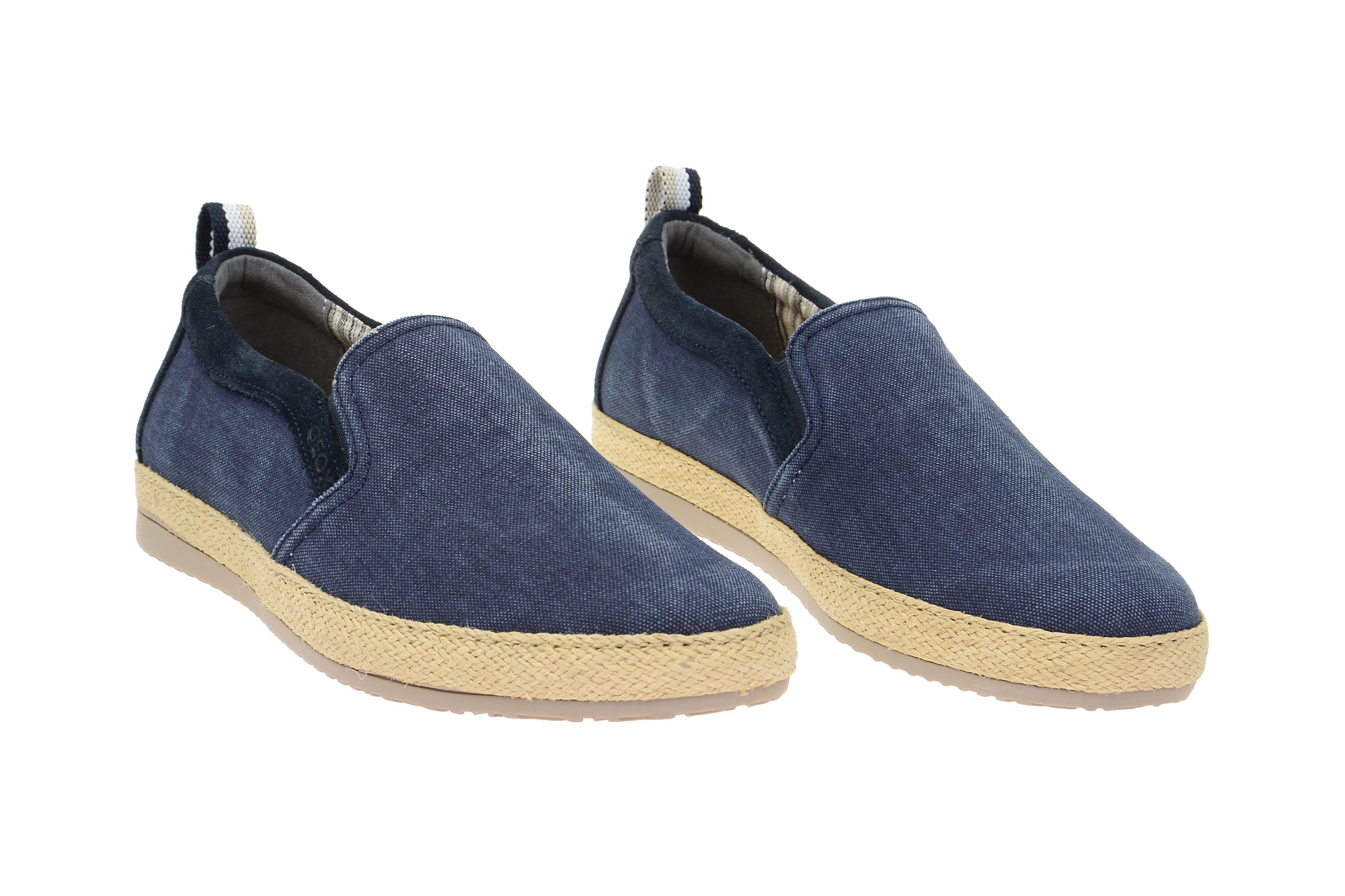 Geox Schuhe Copacabana Slipper blau (U52B7B 000NB C4064