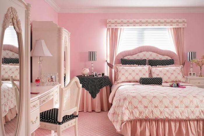 Spiegel Badezimmerschrank ~ Grau weißes zimmer in shabby stil rosarot spiegel groß am schrank