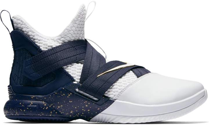 sports shoes 8181b 6386e LeBron Zoom Soldier 12 25 Straight in 2019 | Nike basketball ...