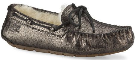 UGG® Dakota Metallic Black - Womens