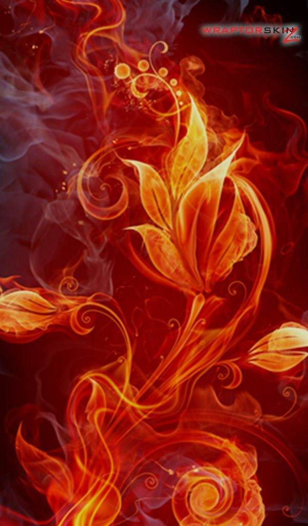 Kindle Fire Wallpaper Fire Amazon Kindle Fire Original Decal Style Skin Fire Flower Fire Flower Abstract Iphone Wallpaper Background Hd Wallpaper