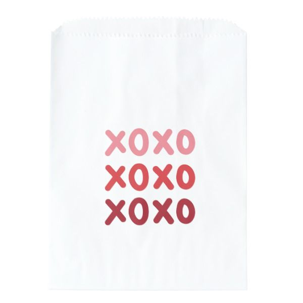 Valentine S Day Xoxo Favor Bags In 2018 Valentine S Day Ideas